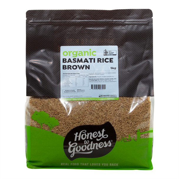 Honest to Goodness Organic Brown Basmati Rice