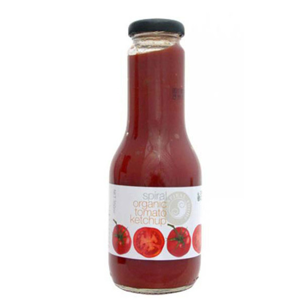 Spiral Organic Tomato Ketchup 350g - RETAIL ONLY
