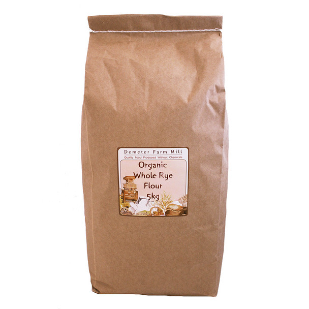 Wholegrain Milling Organic Whole Rye Flour