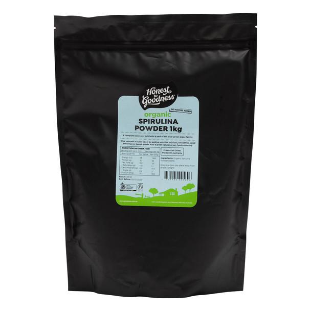 Organic Spirulina Powder 1KG