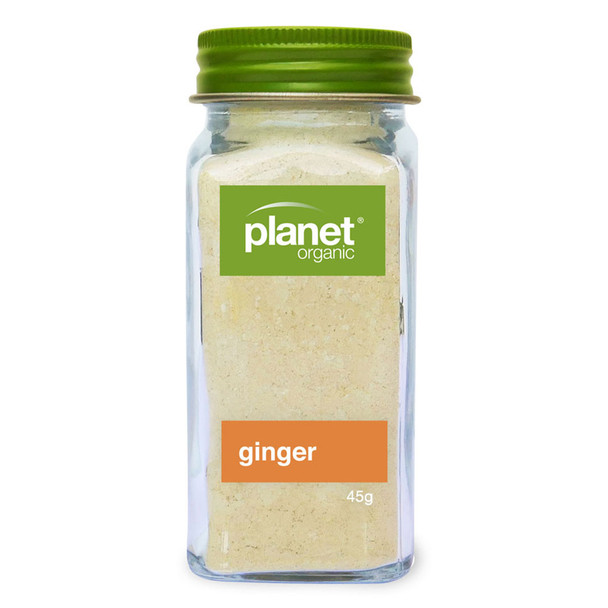 Organic Ginger Powder (Ground) 45g