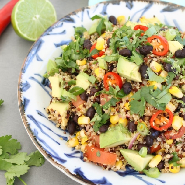 Colourful Mexican Quinoa Salad