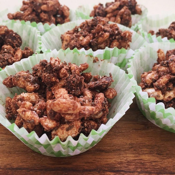 Healthy Chocolate Rice Crackles