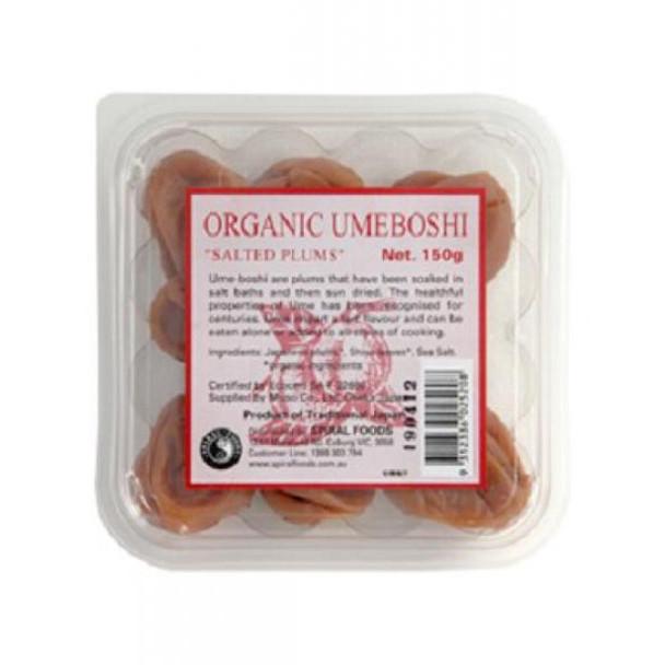 Spiral Organic Umeboshi Plums 150g