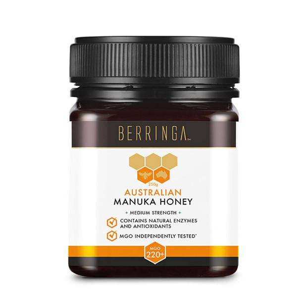 Berringa Australian Manuka Honey MGO 220+ 250g