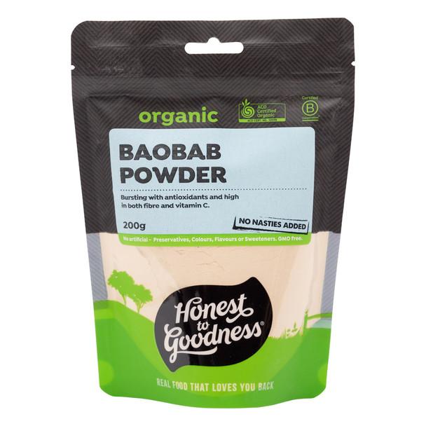 Organic Baobab Powder 200g