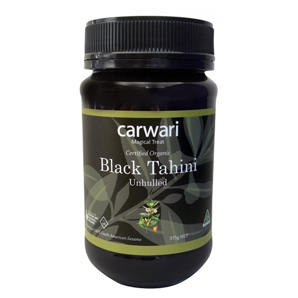 Carwari Organic Black Tahini 375g