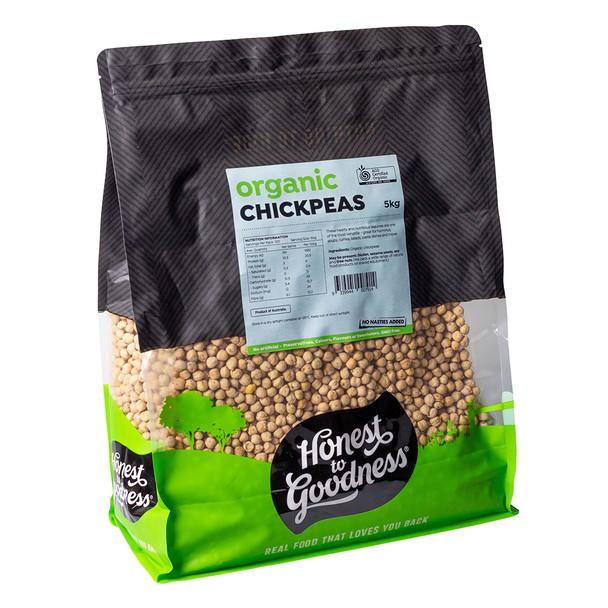 Organic Chickpeas 5KG