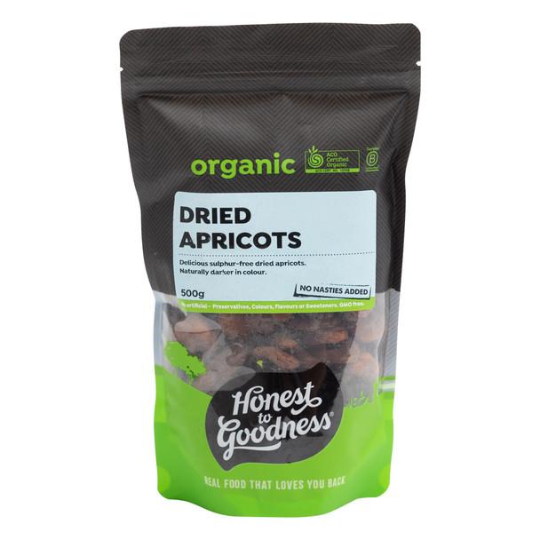 Organic Dried Apricots 500g