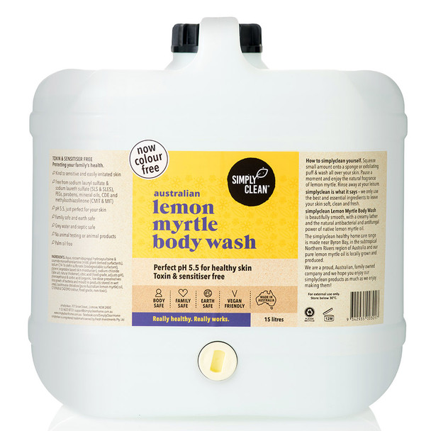 Lemon Myrtle Body Wash 15L