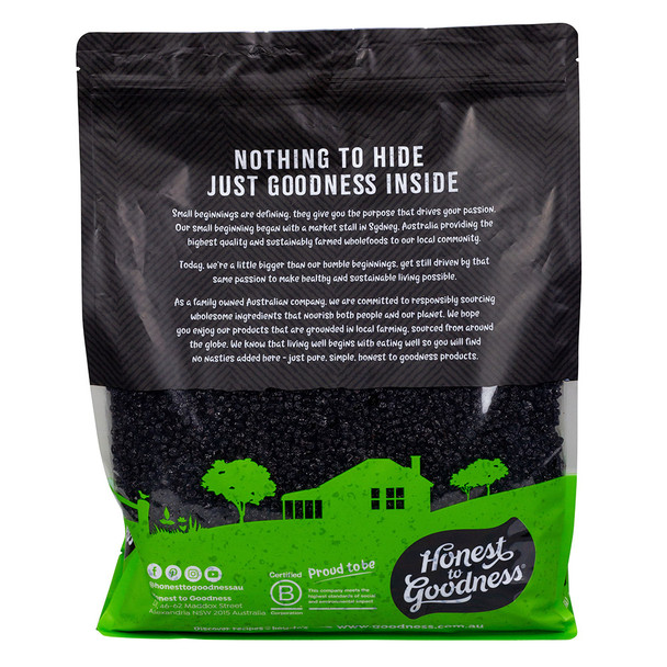 Organic Dried Blueberries 5KG