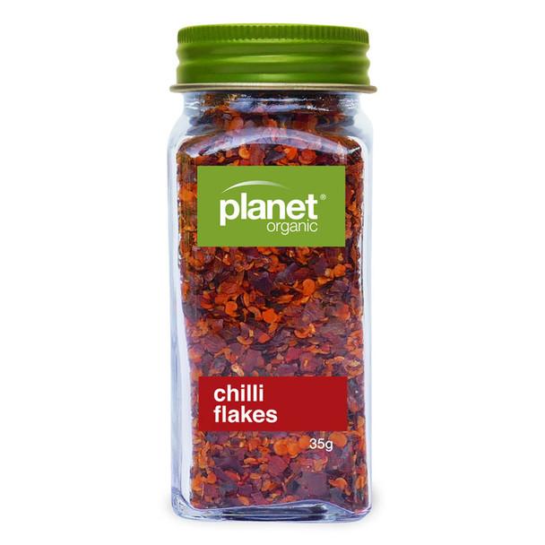 Organic Chilli Flakes 35g