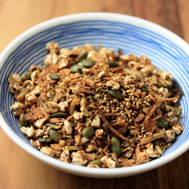 Gluten-Free Chai Toasted Granola