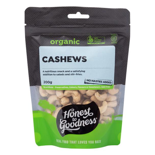 Organic Cashews 200g
