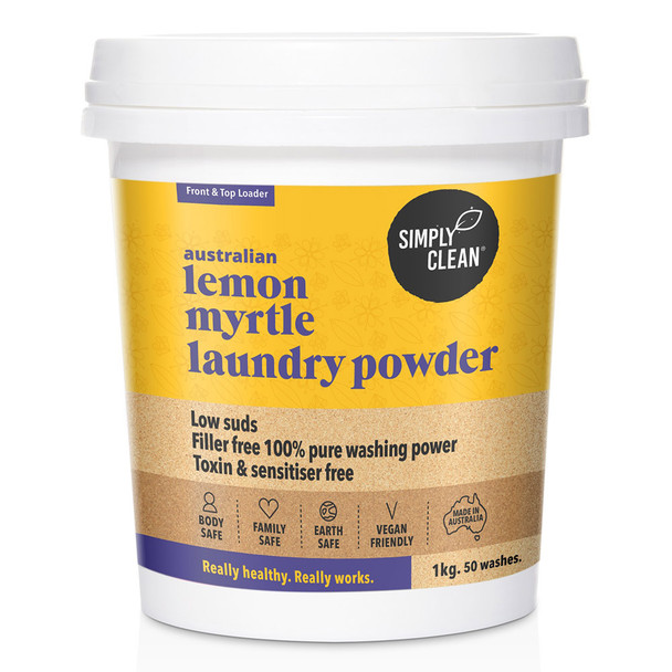 Lemon Myrtle Laundry Powder 1KG