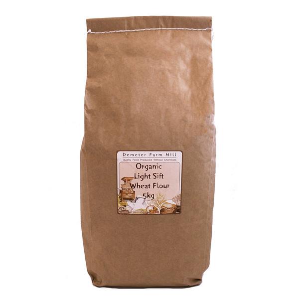 Wholegrain Milling Organic Light Sift Wheat Flour