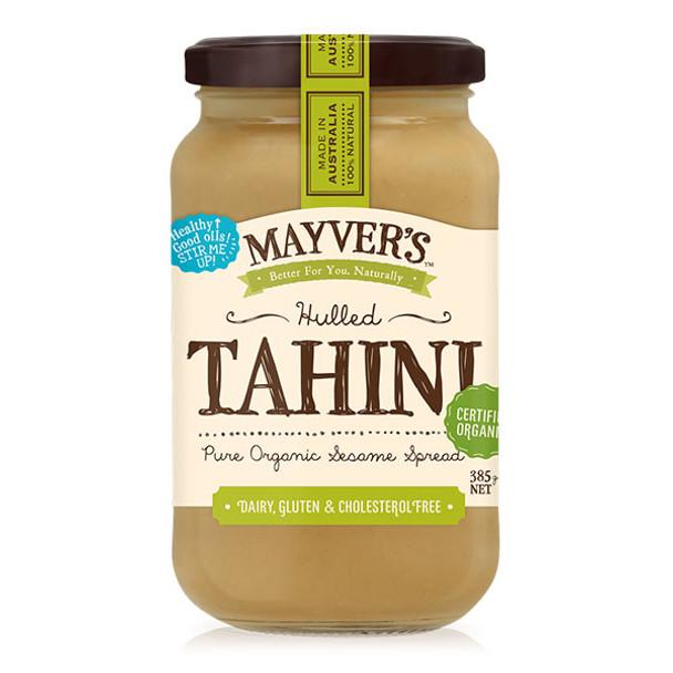 Mayver's Organic Tahini Hulled  385g