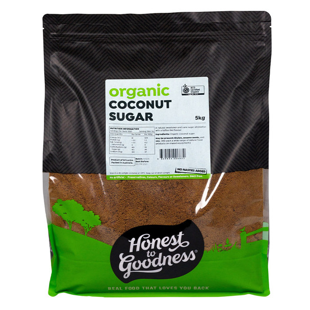 Honest to Goodness Organic Coconut Sugar