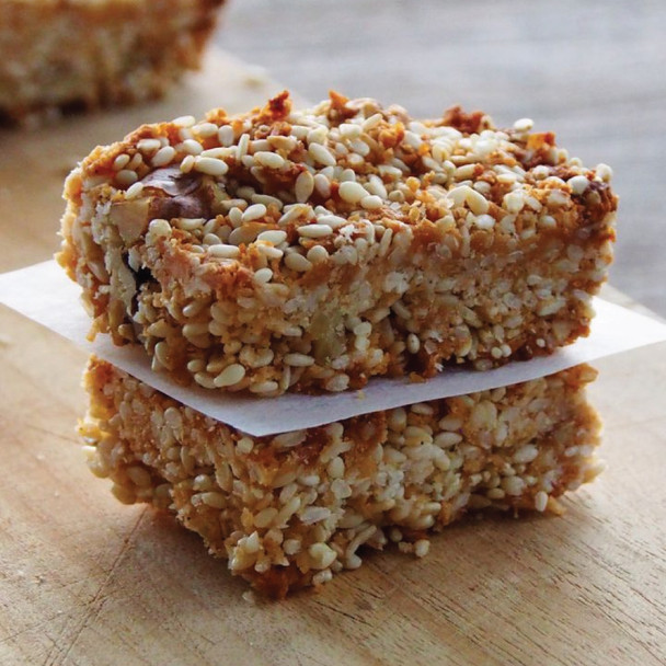 Sesame and Nut Protein Bars