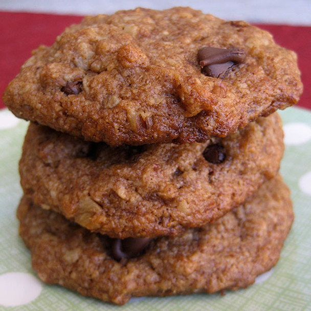 Organic Quinoa & Chocolate Chip Cookies
