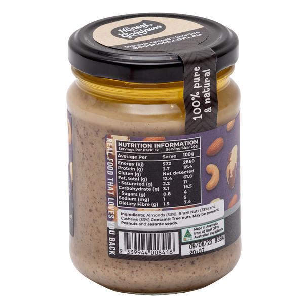 ABC Almond, Brazil & Cashew Spread 240g