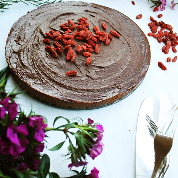 Raw Cacao Cheesecake