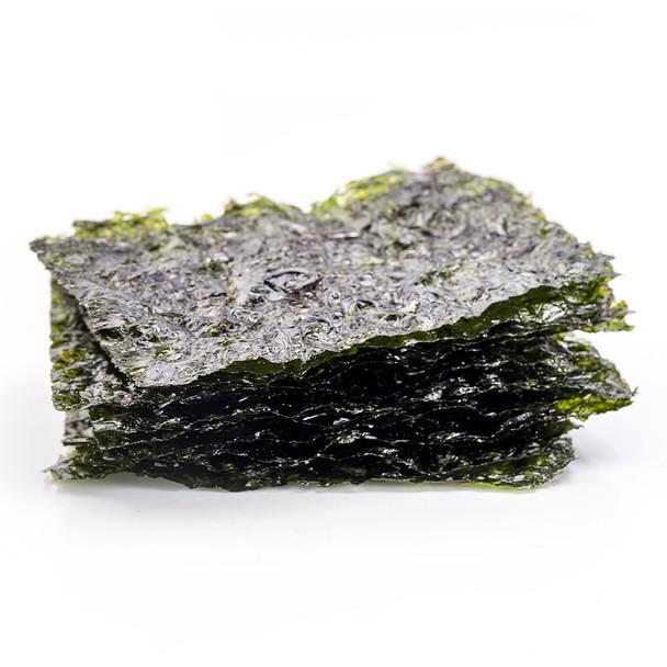 Organic Roasted Seaweed Snack - Sea Salt 4g