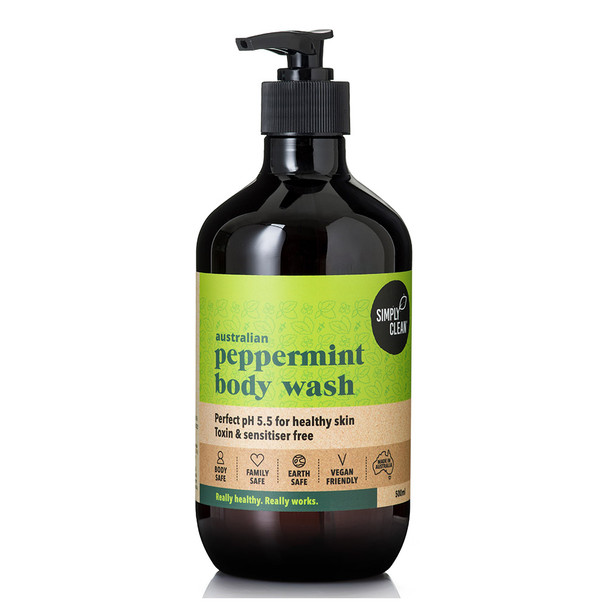 Peppermint Body Wash 500ml