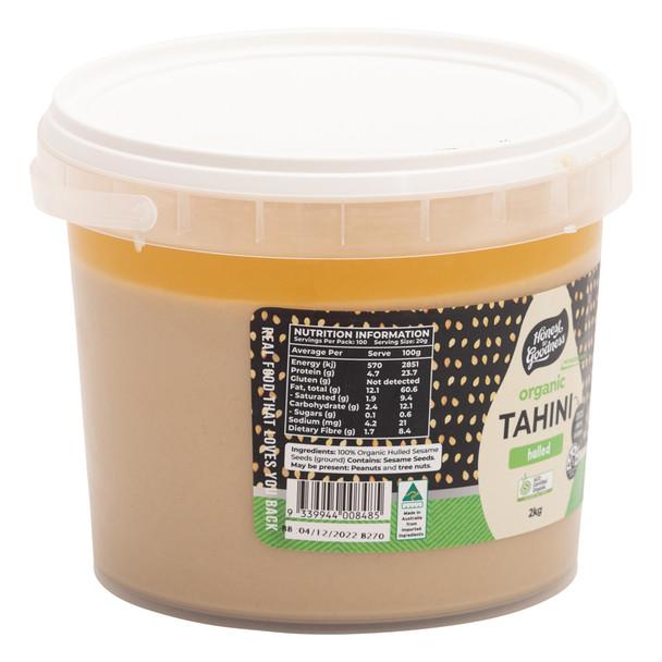 Organic Hulled Tahini 2KG