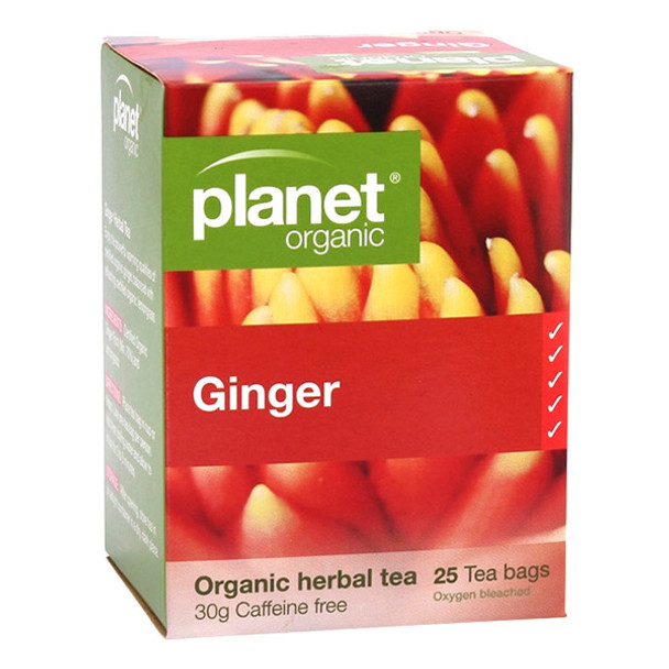 Planet Organic Ginger Tea Bags x 25