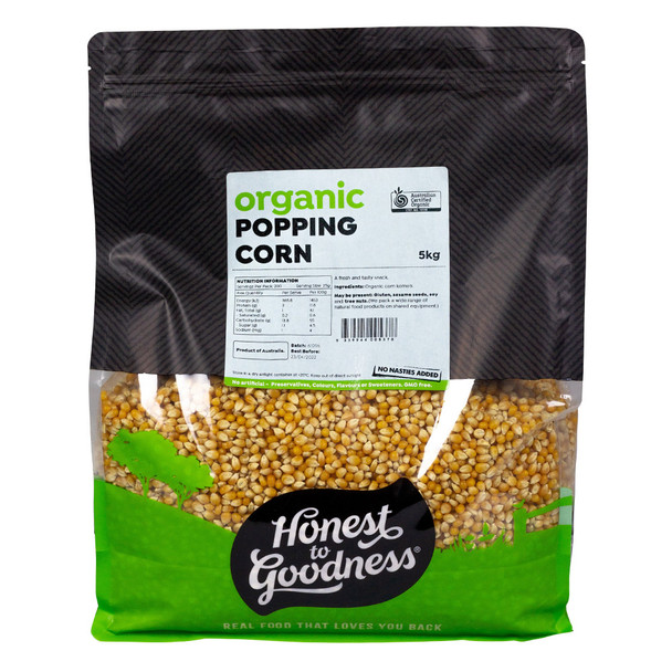 Honest to Goodness Organic Popcorn Kernels