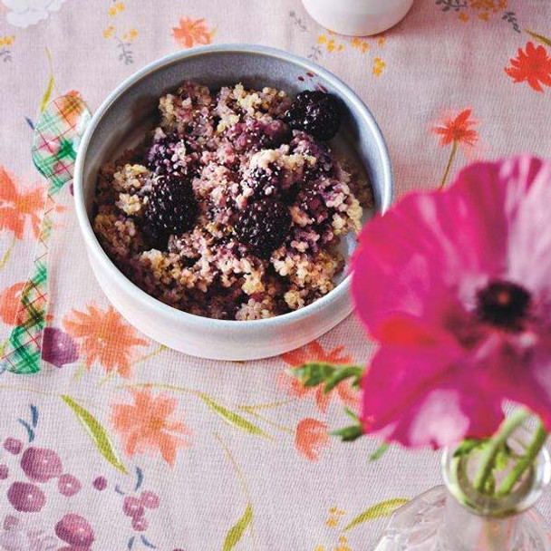 Quinoa and Blackberry Porridge