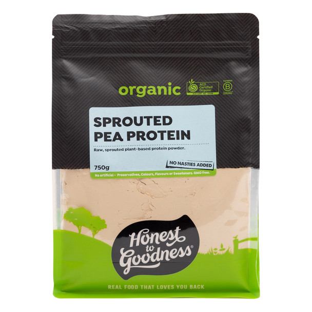 Organic Sprouted Pea Protein 750g