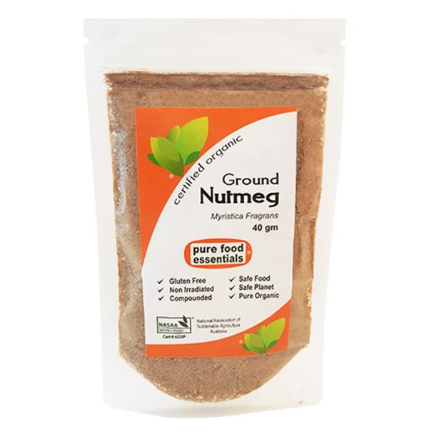 Organic Nutmeg Powder 40g