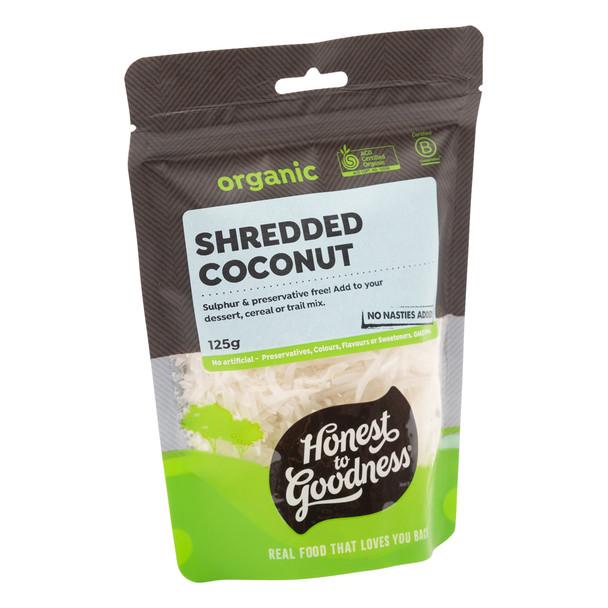 Organic Shredded Coconut 125g