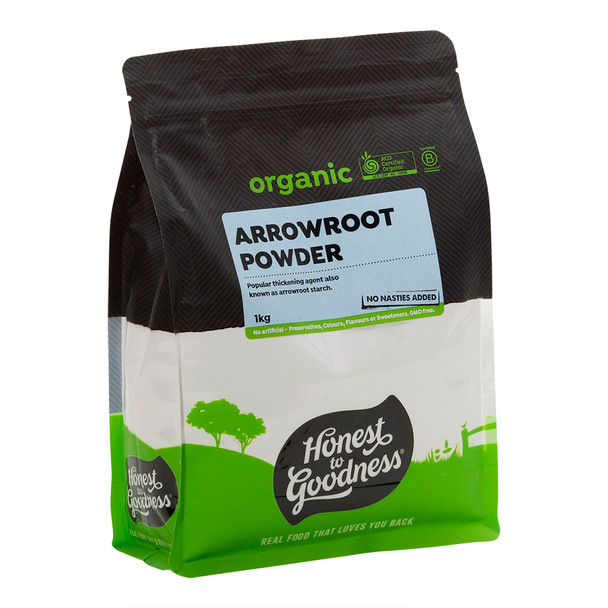 Organic Arrowroot Powder 1KG