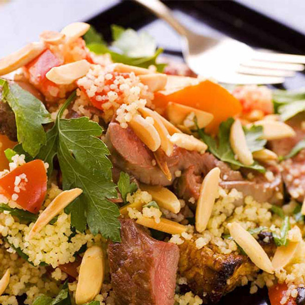 Almond, Lamb and Pumpkin Cous Cous