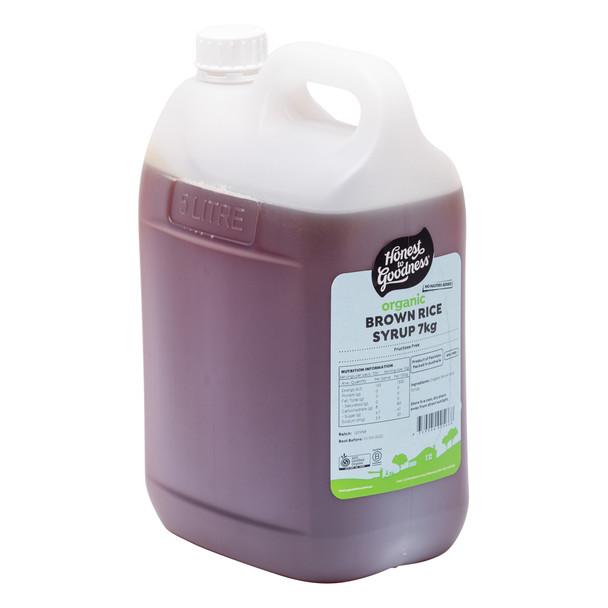 Organic Brown Rice Syrup 7KG