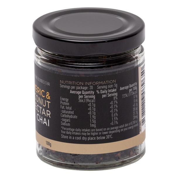 Turmeric & Coconut Nectar Chai 100g