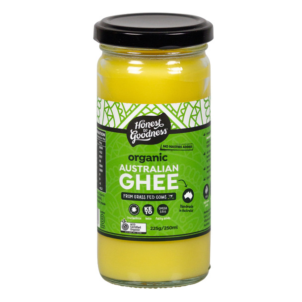 Honest to Goodness Organic Australian Grass Fed Ghee