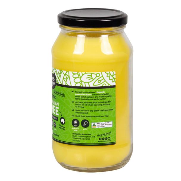 Organic Australian Ghee 500ml