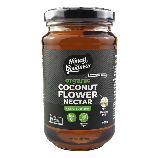 Honest to Goodness Organic Coconut Flower Nectar
