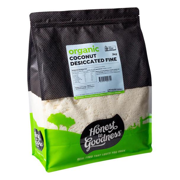 Organic Desiccated Coconut 3KG