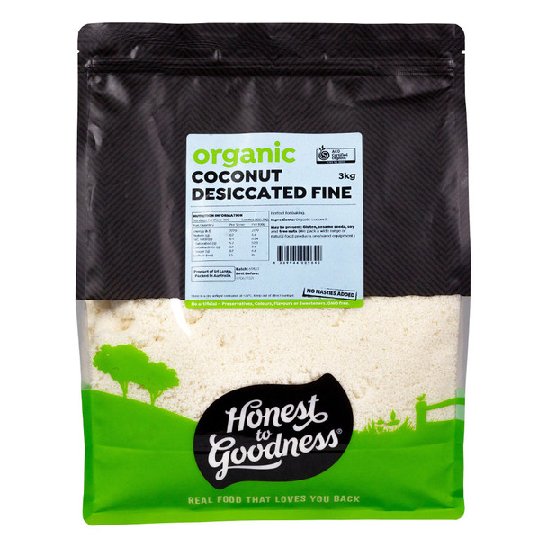 Honest to Goodness Organic Desiccated Coconut