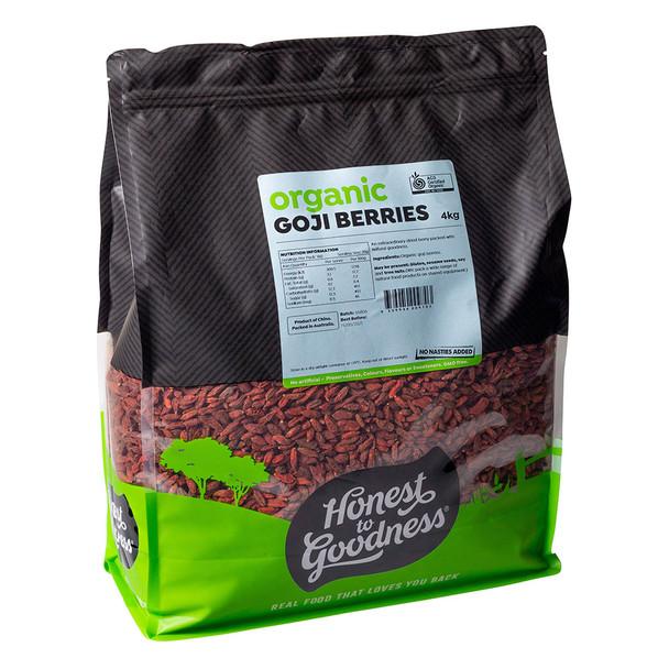 Organic Goji Berries 4KG