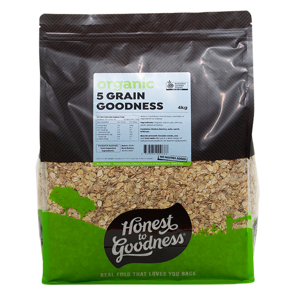 Honest to Goodness Organic 5 Grain Goodness