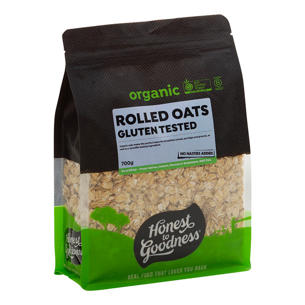Organic Rolled Oats - Gluten Tested 700g