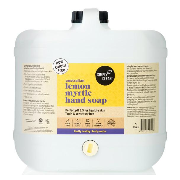 Lemon Myrtle Hand Soap 15L