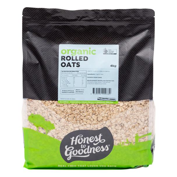 Organic Rolled Oats 4KG
