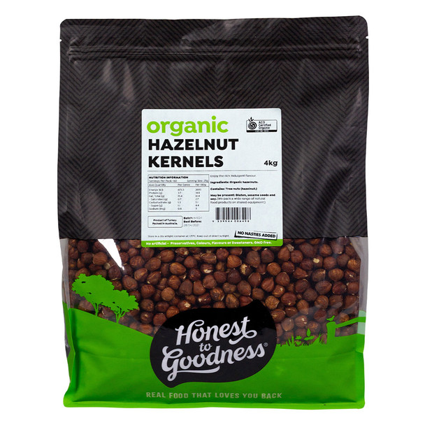 Honest to Goodness Organic Hazelnut Kernels